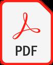 Icône PDF